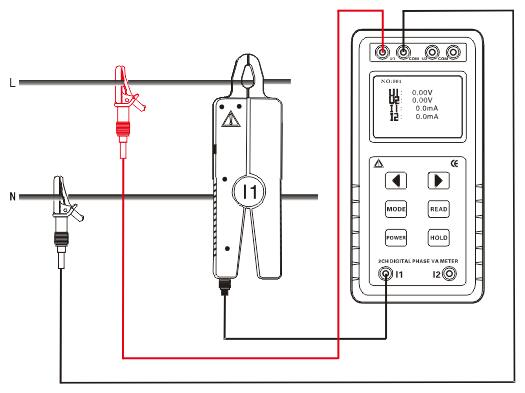 电能表功率相位检测