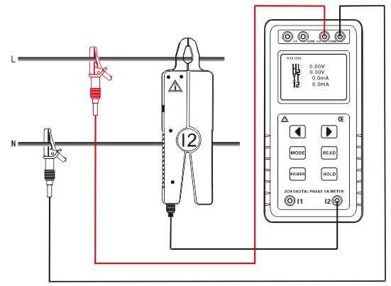 可以测试三相三线电压,电流,相位,频率,功率,功率因数等.
